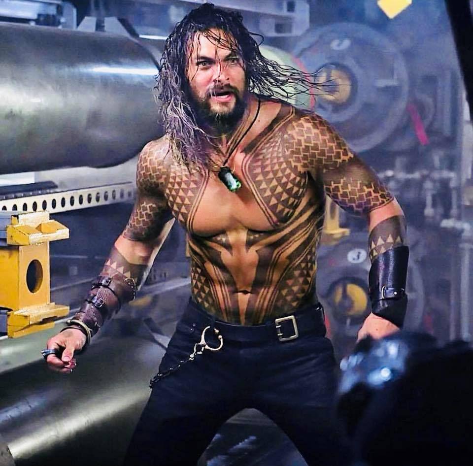 Aquaman Tattoo Design: Jason Momoa Aquaman, Aquaman Film, Jason Momoa