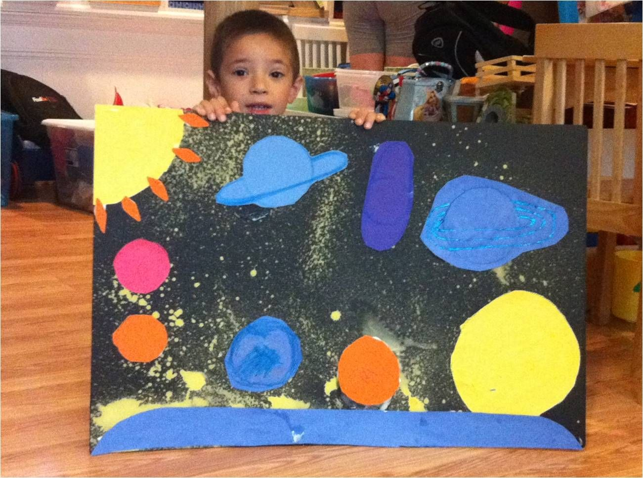 Two Simple Solar System Project For Your Astronaut In