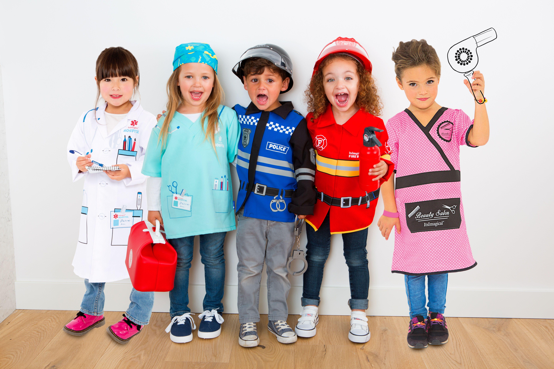 Y Tu Peque Qué Quiere Ser De Mayor Disfraz Niños Profesiones Imaginarium Disfraz De Profesiones Disfraces Para Niños Disfraces Niños