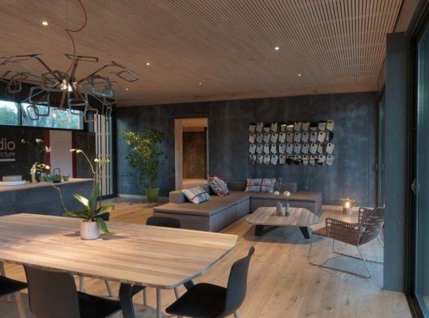 Pop up house la maison passive par multipod passive house maison passive passive house - Maison passive design ...