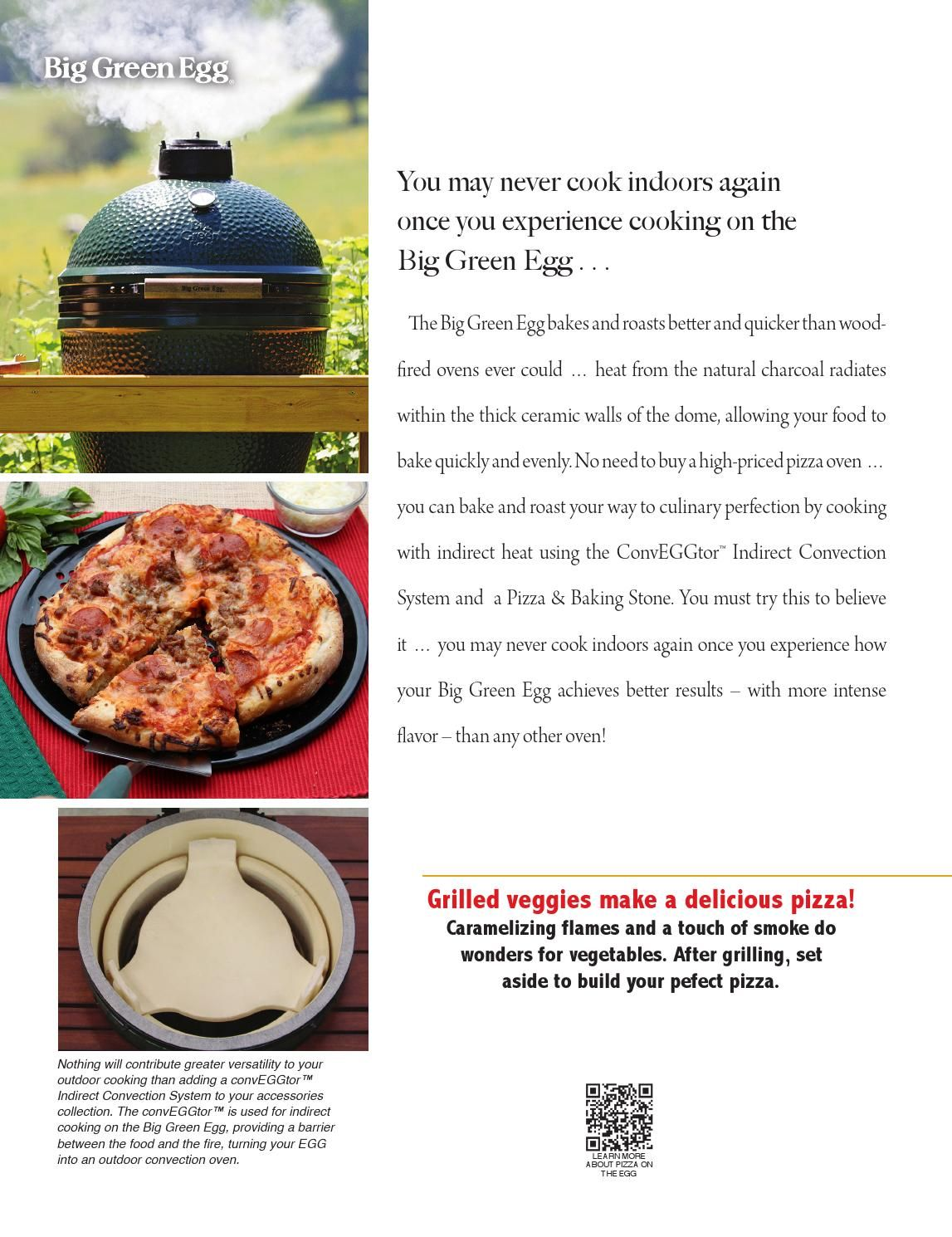 ISSUU - Cooking Tips & Techniques - Pizza Basics by Big Green Egg