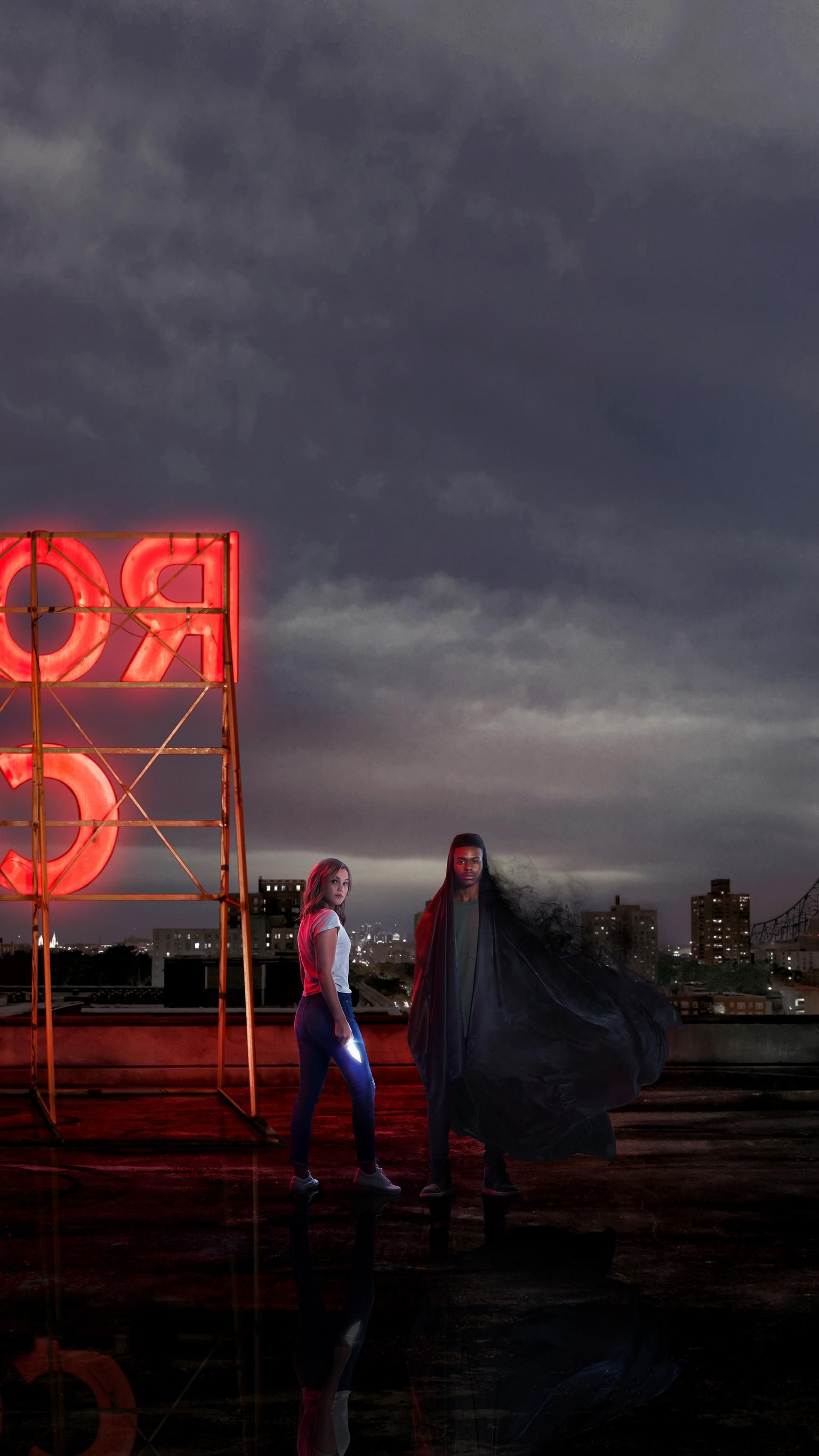 Marvels Cloak Dagger Phone Wallpaper Tv Shows Marvel Cloak