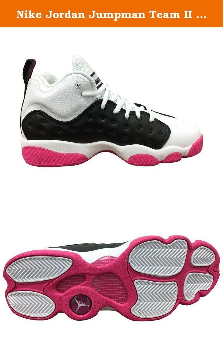 Nike Jordan Jumpman Team II GG Black/White/Pink 820276-016 (SIZE
