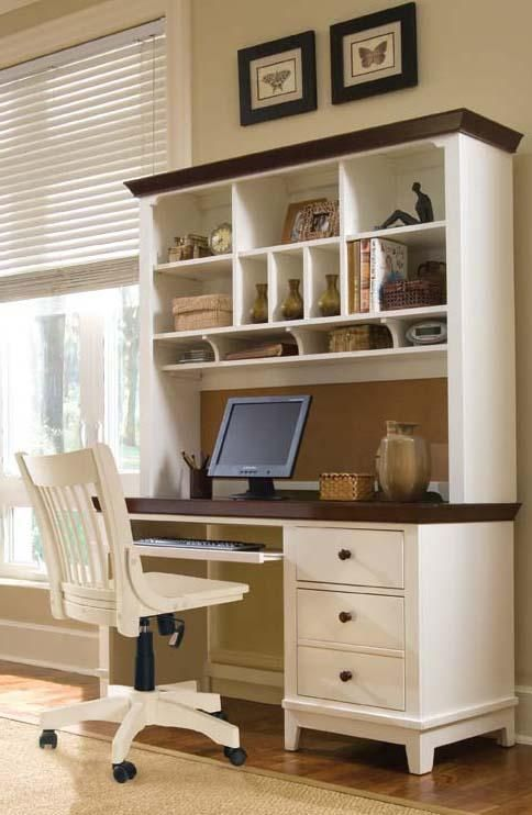 The 25 Best White Desk With Hutch Ideas On Pinterest