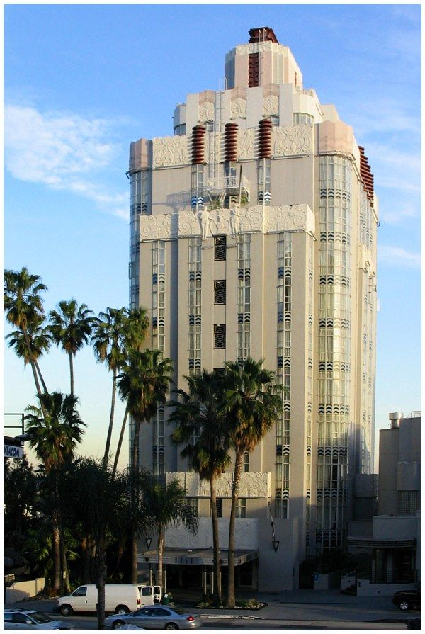 Los Angeles, 8358 Sunset Blvd., Sunset Tower Apartments ...