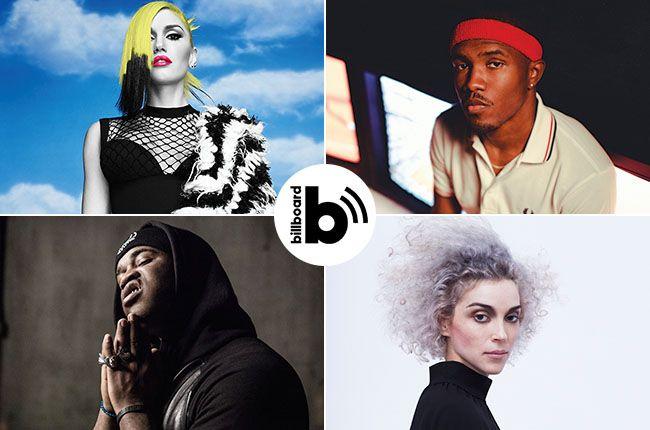 Must-Hear Music Podcast: Frank Ocean, Gwen, St. Vincent, Tinashe, A$AP Ferg & More | Billboard