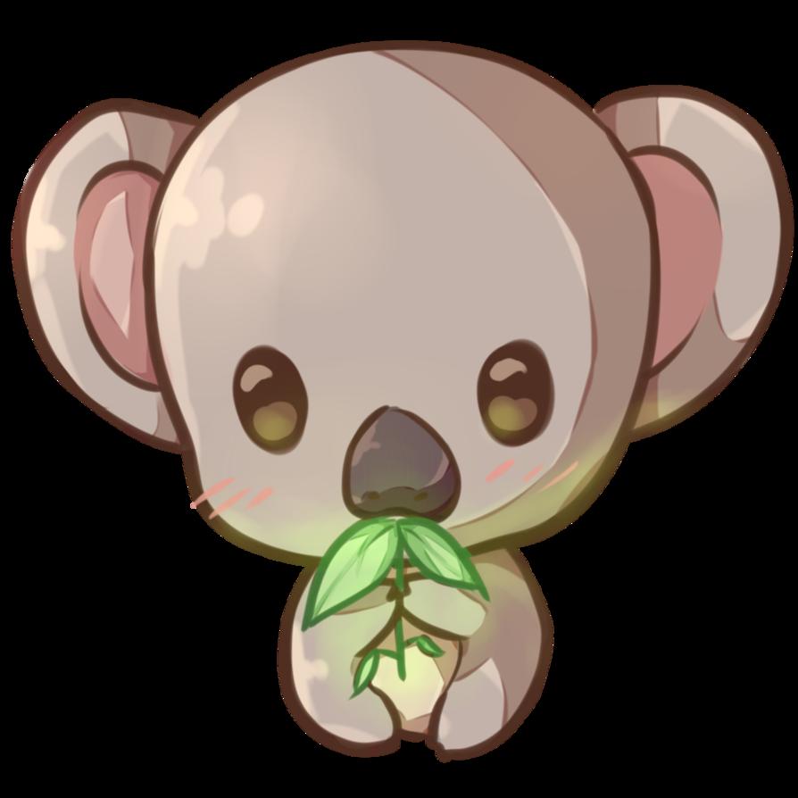 Kawaii Koala Copie By Dessineka Fauna Arts In 2019 Kawaii