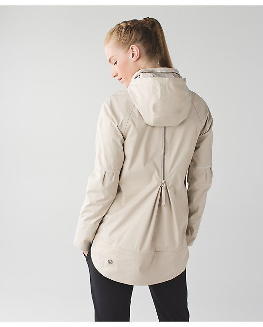 Women's Jacket - Savasana Waterproof Jacket II - lululemon ...