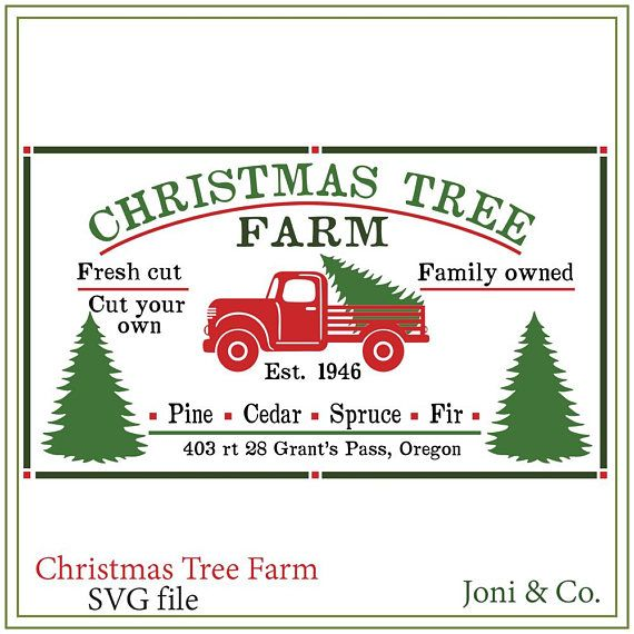 Christmas Tree Truck Farm Sign Svg Red Truck Svg Rustic Country Farm Christmas Christmas Farm Sign Sign Svg Farm Svg Tree Farm Svg Christmas Tree Truck Christmas Tree Farm Christmas Farm