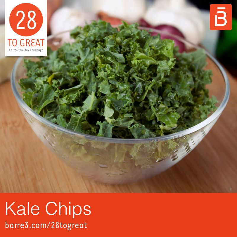 Photo of Kale Chips – barre3