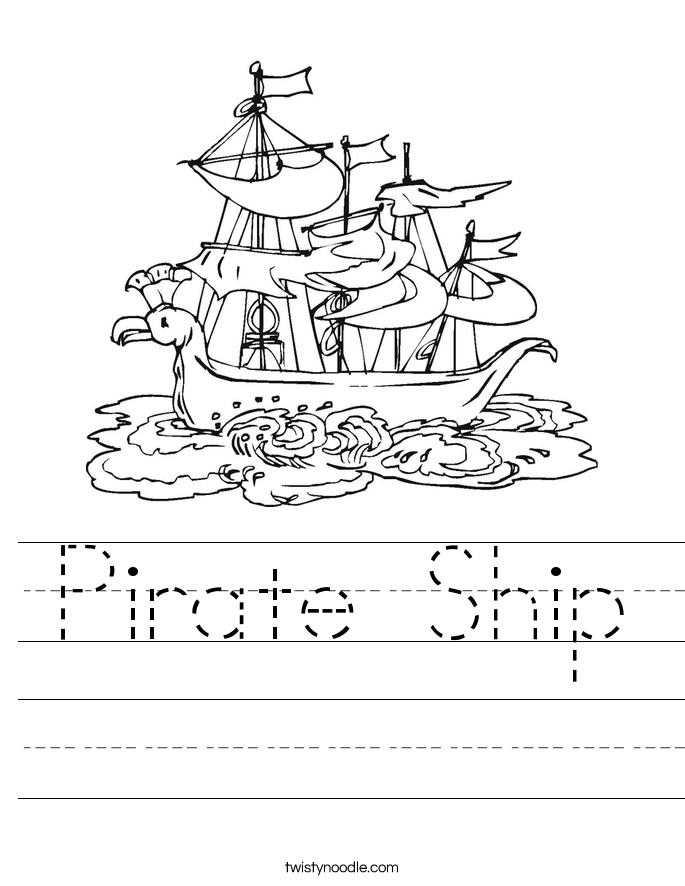 pirate worksheets - Yahoo Image Search Results | It\'s International ...