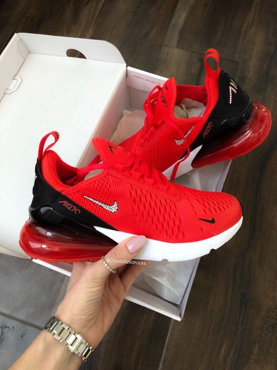 air max 270 womens red