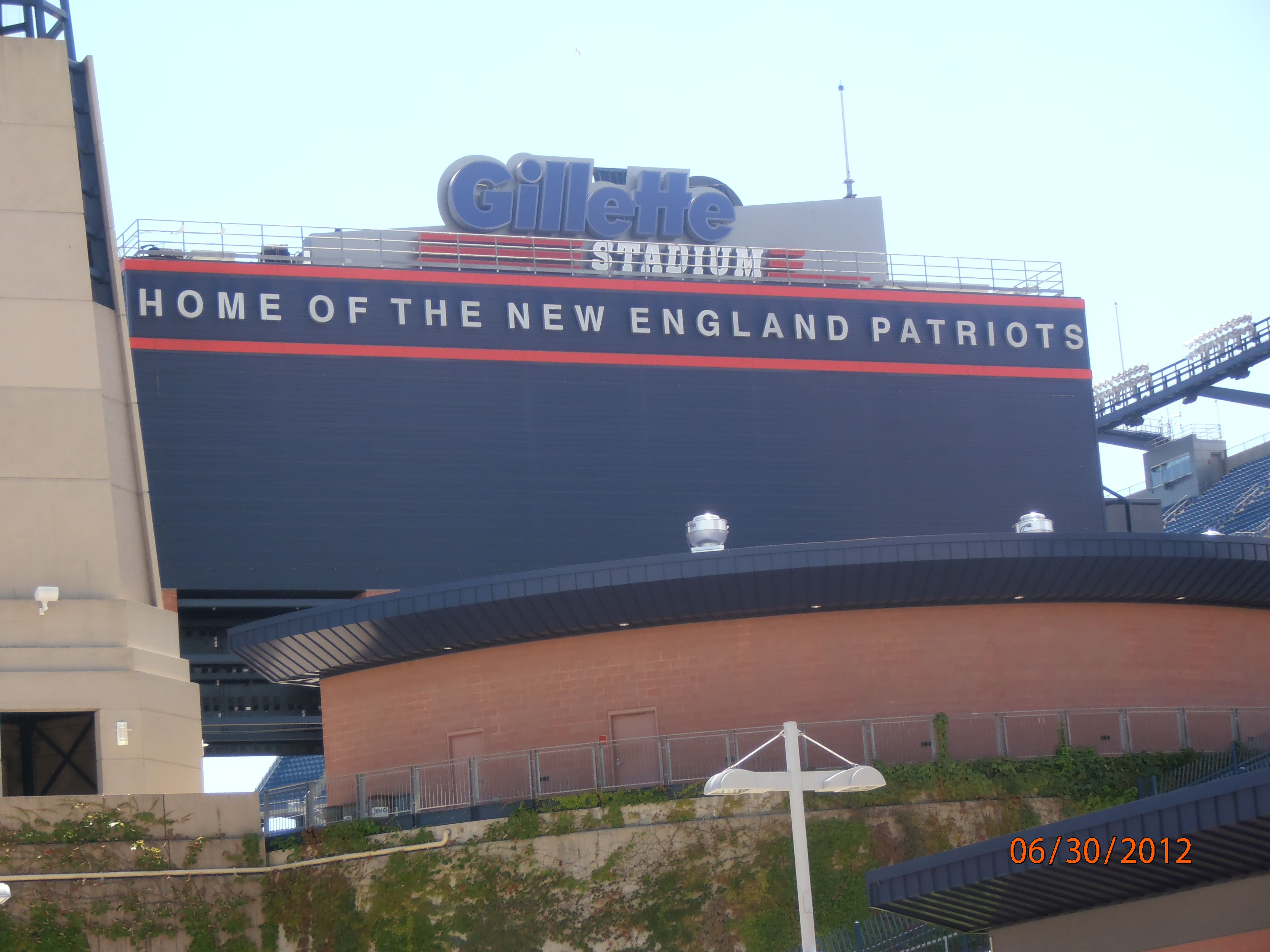 Home of the New England Patriots ...