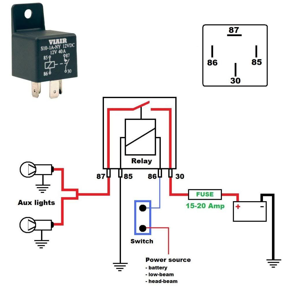 Horn Relay Simple Wiring Within Diagram With Best Of Wire Schematics