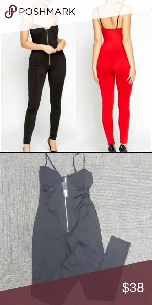 ca53f207686a Sexy jumpsuit Stretchy nylon spandex padded cups this can fit size 12 as  well but says 14. If you like to look sexy in the gym.