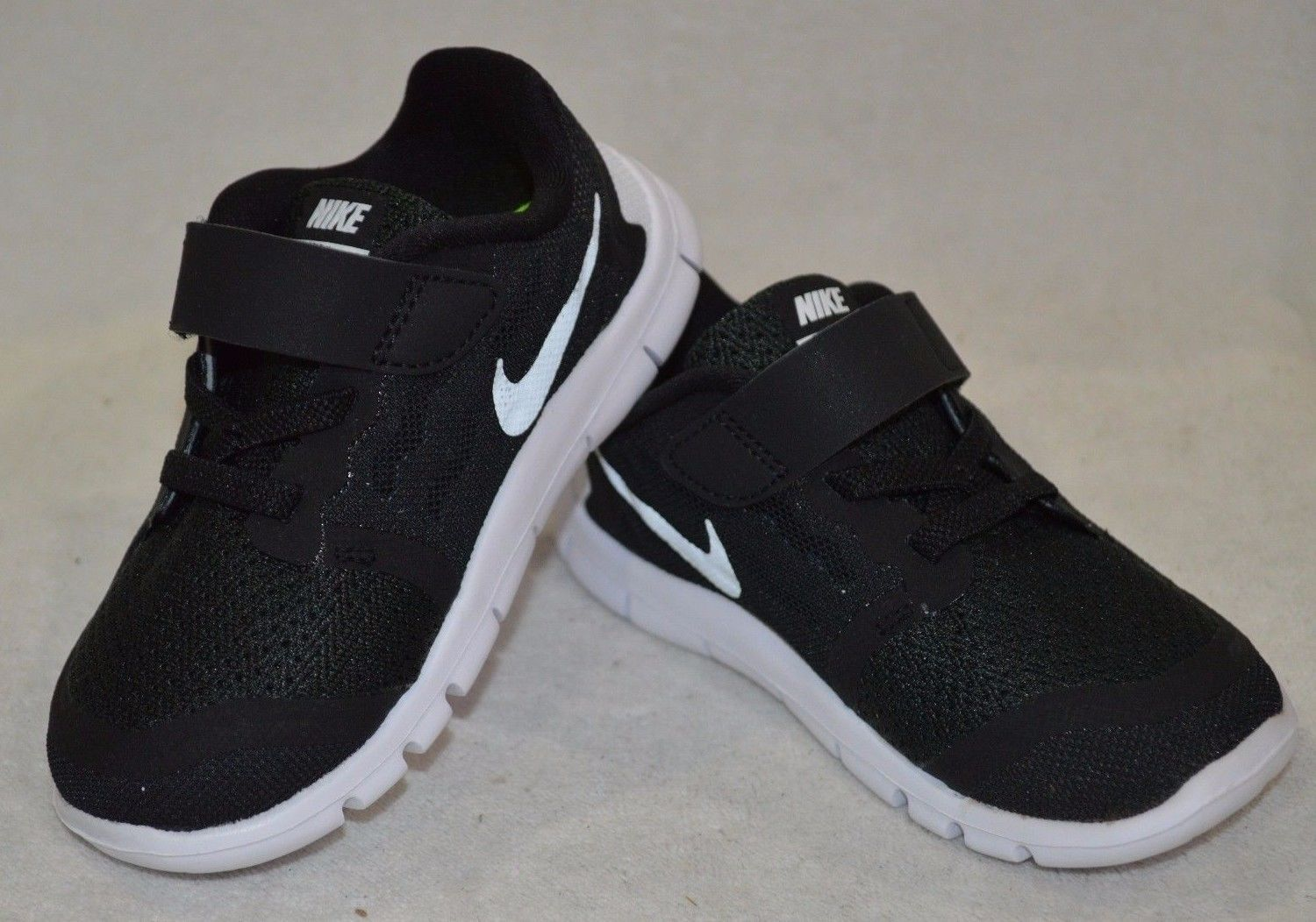free shipping 49d7a 3d231 Infant Shoes  Nike Free 5 (Tdv) Black White Grey Boy S Toddler Running