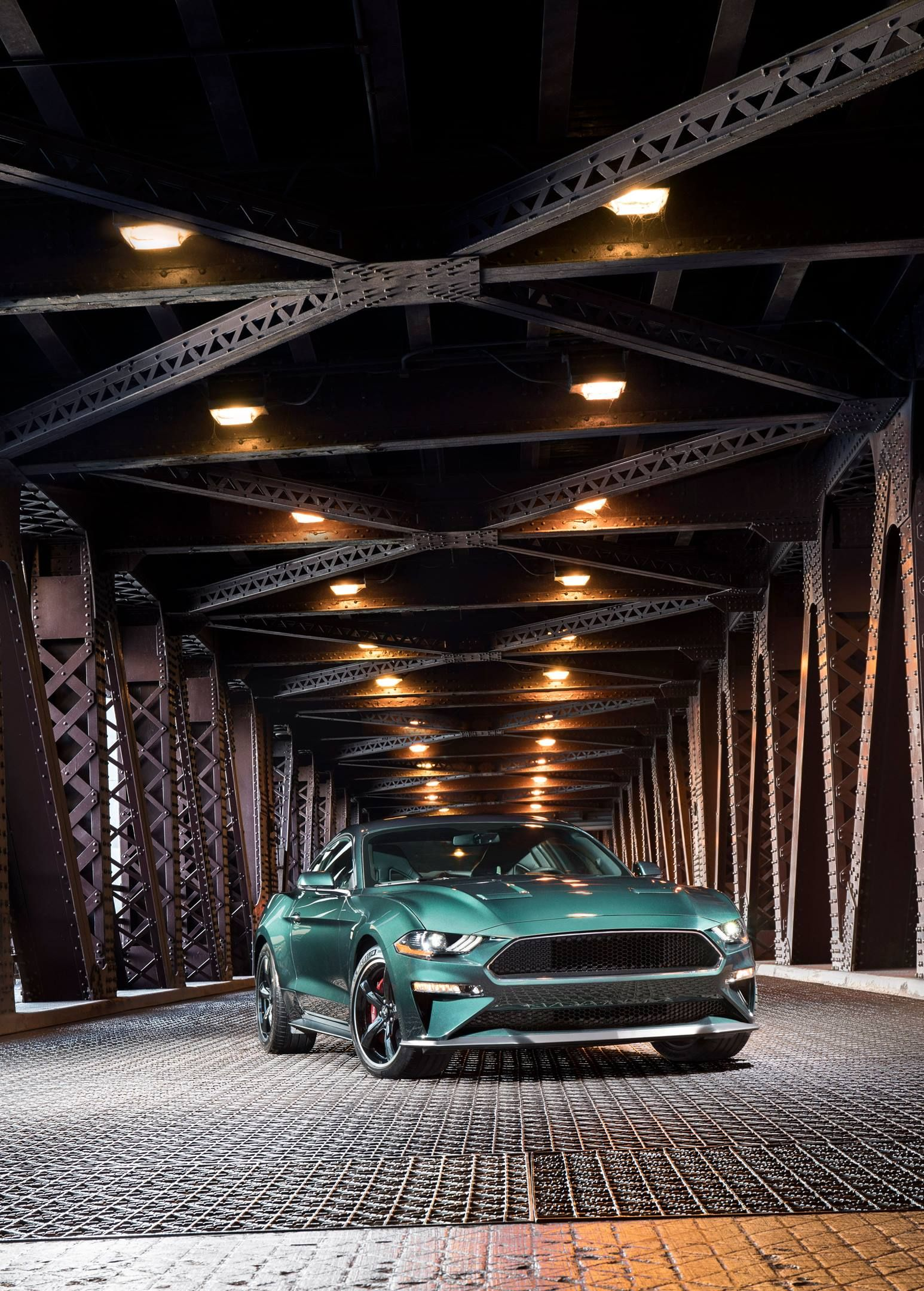 The 2019 Ford Mustang Bullitt Is Unveiled At The 2018 North American