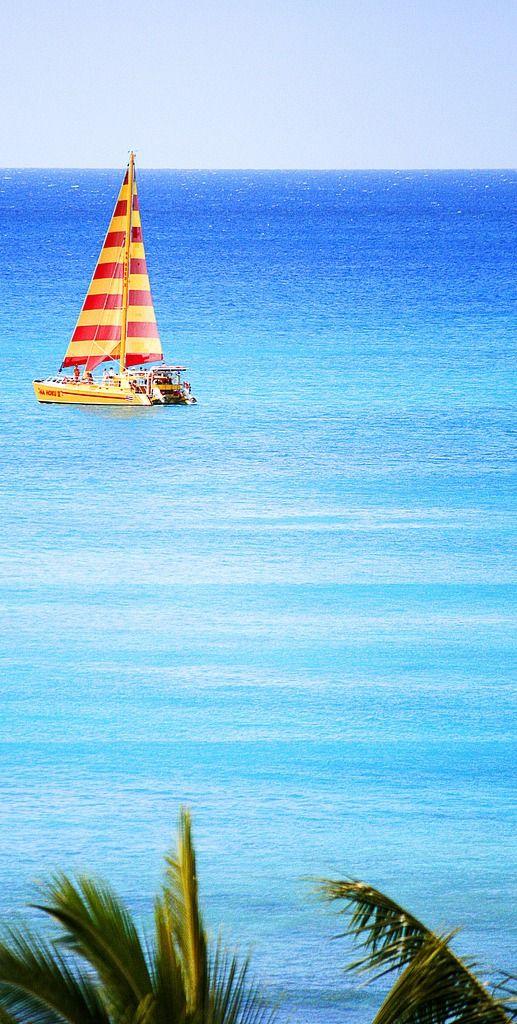 Una Vista Hermosa De Hawaii En El Verano Por Virginia Bailey Vía Gerardo Lara Naútico Océano