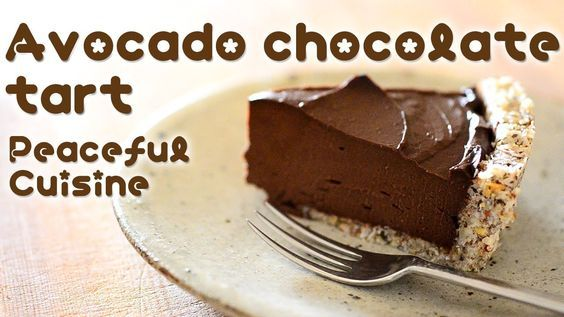 Avocado Chocolate Tart (raw vegan)  You're in for a treat today – This Avocado chocolate tart cake is very simple to make, its raw and best of yet it's creamy. This would be wonderful for dinner parties or even when you want a treat after a meal. Check outPeaceful Cuisinefor more raw vegan recipes …