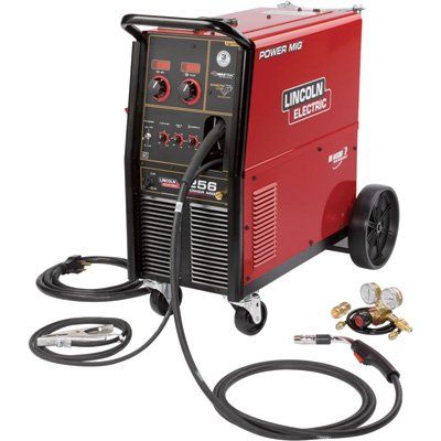 Lincoln Electric Power Mig 256 Wire Feed Welder 300 Amps Model K3068 1 Wire Feed Welder Mig Welder Welding