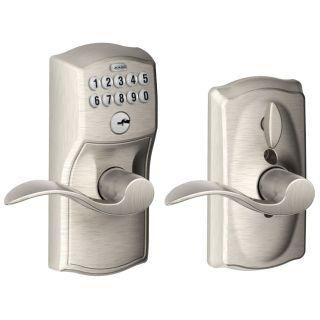 Schlage Fe595 Cam Acc Front Door Locks Keypad Lock Door Levers
