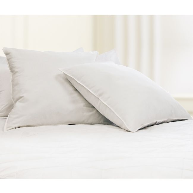 European 26 Inch Square 230 Thread Count Down Alternative Pillow Set Of 2 European Pillows Euro Pillows White Pillows
