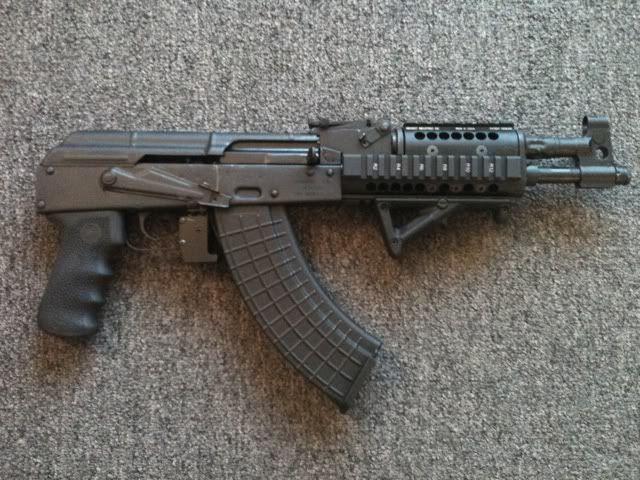 Draco AK pistol | GUNS and GEAR | Ak pistol, Weapons guns, Guns