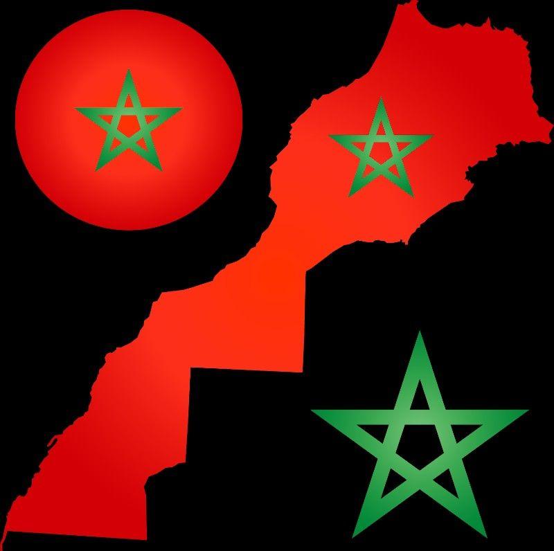 Morocco Map Morocco Map Superhero Art