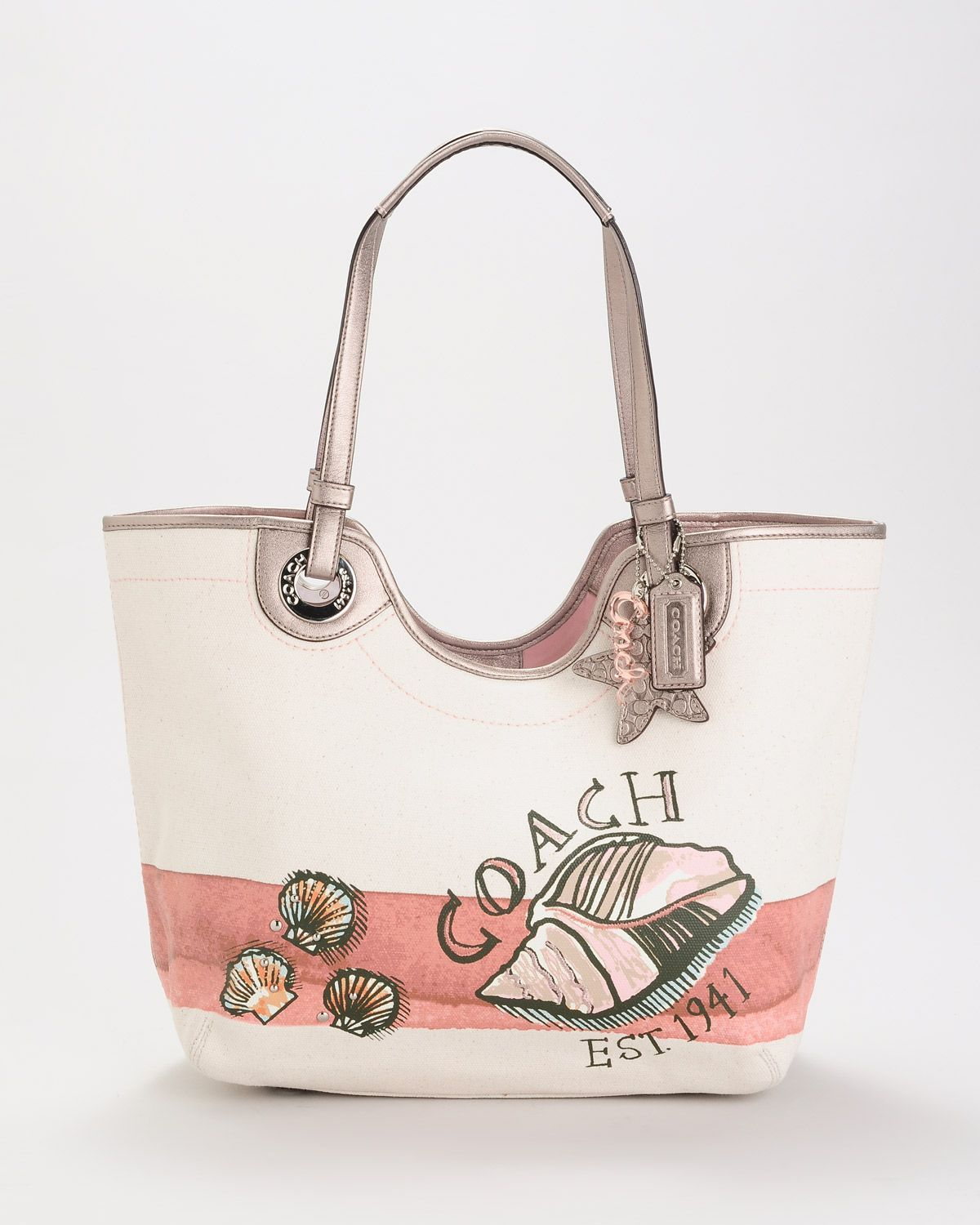 Product Name Coach Seashell Tote At Modnique