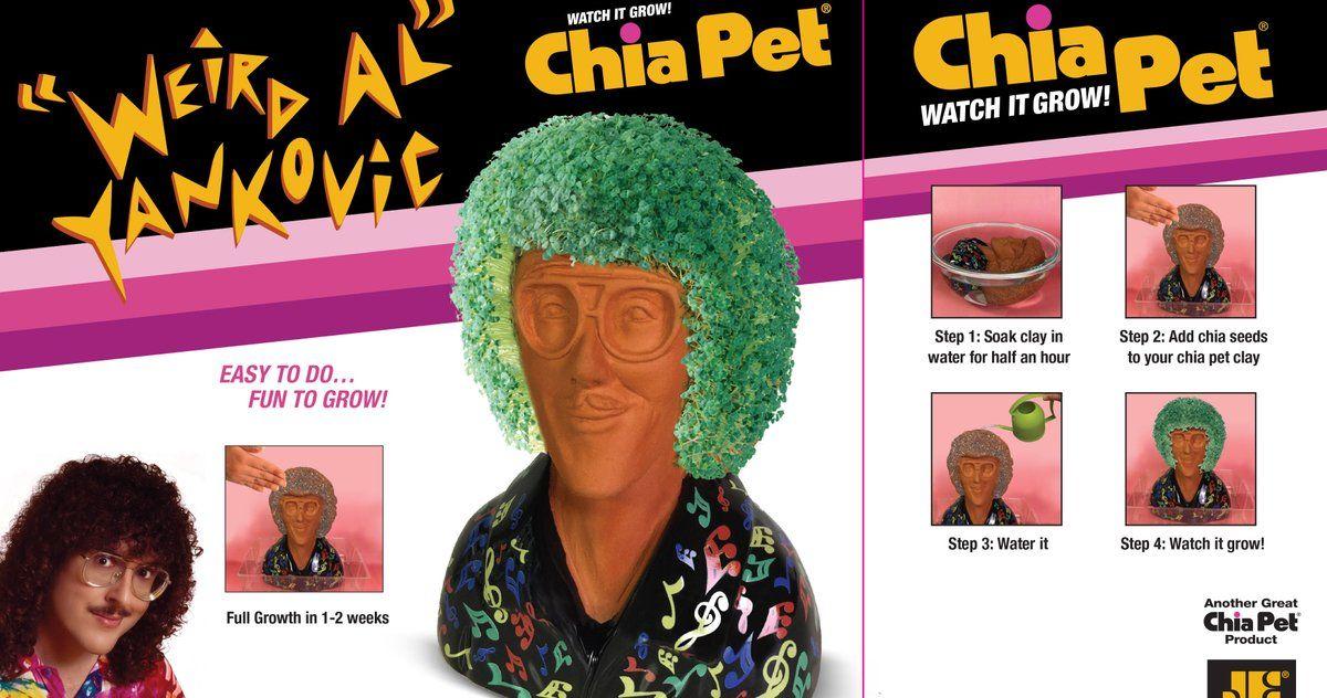 Weird Al Yankovic Chia Pet Arrives, Changing InHome