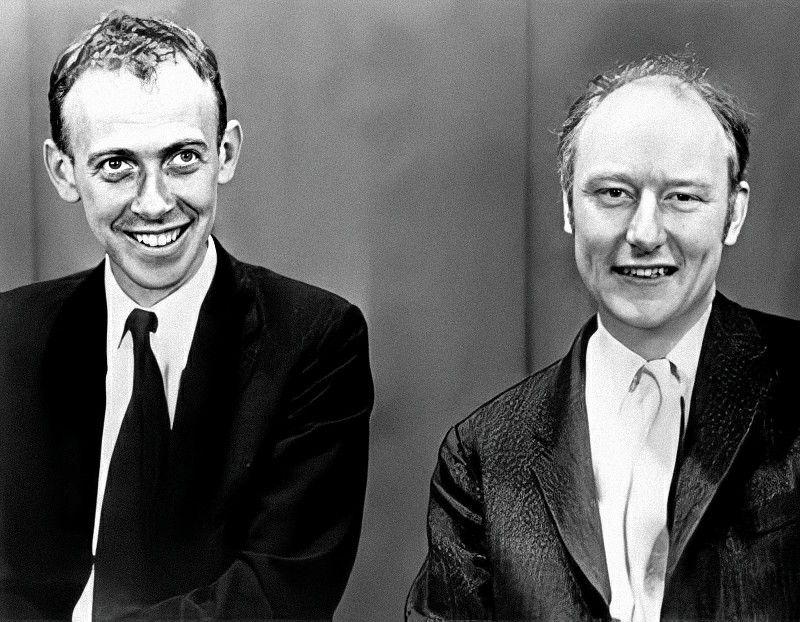 James Watson E Francis Crick Fotos Antigas Fotos Photoshop
