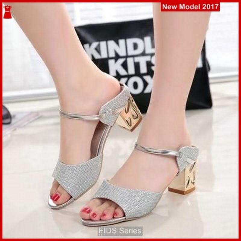 Fids044 Sandal Wanita Hak Tahu Dewasa Sepatu Wanita Sandal Hak Tinggi Model Sepatu