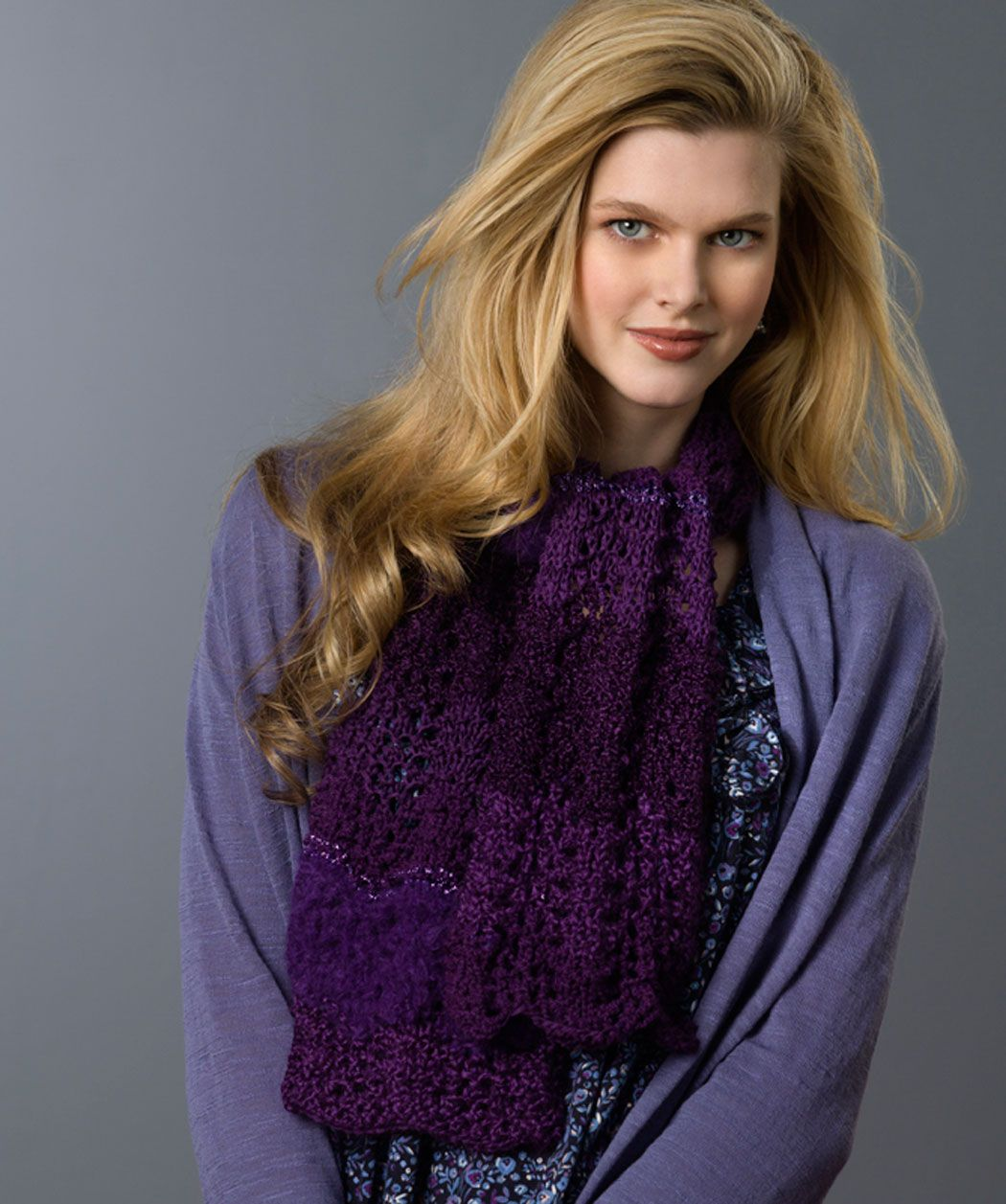 Lovely Lace Scarf | KNITTING | Pinterest | Ovillos, Boutiques y ...