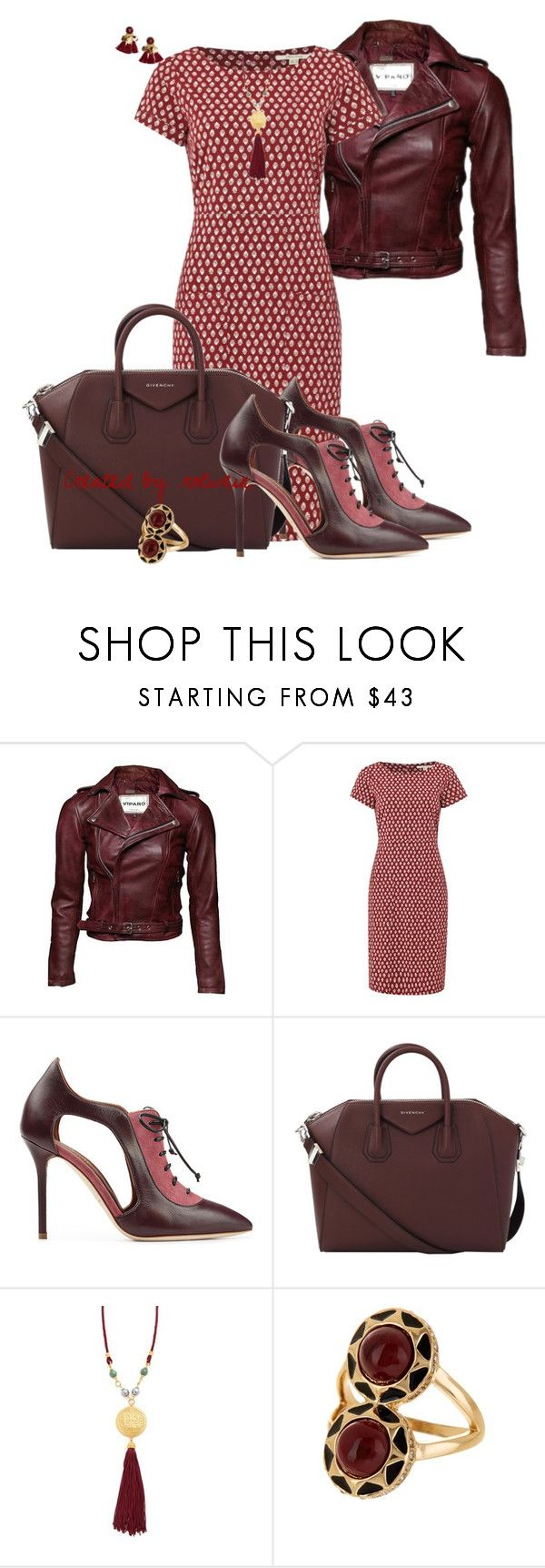"""Aria"" by rotwein ❤ liked on Polyvore featuring White Stuff, Malone Souliers, Givenchy, Ben-Amun and House of Harlow 1960"
