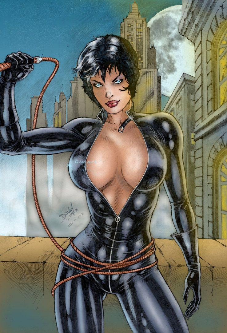 dc's catwomanclu-art on deviantart   dc universe babes