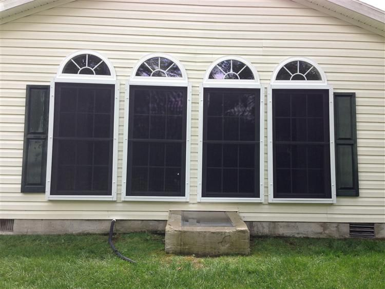 Golf Ball Protection Screens By Cape Atlantic Screenmobile Window Screen Doors Screened