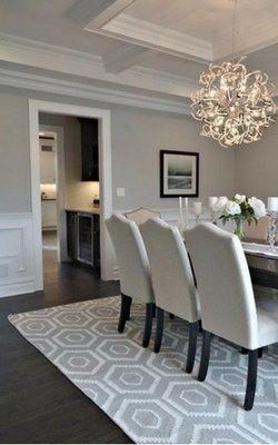 Best shades of paint for dark hardwood floors #darkflooring