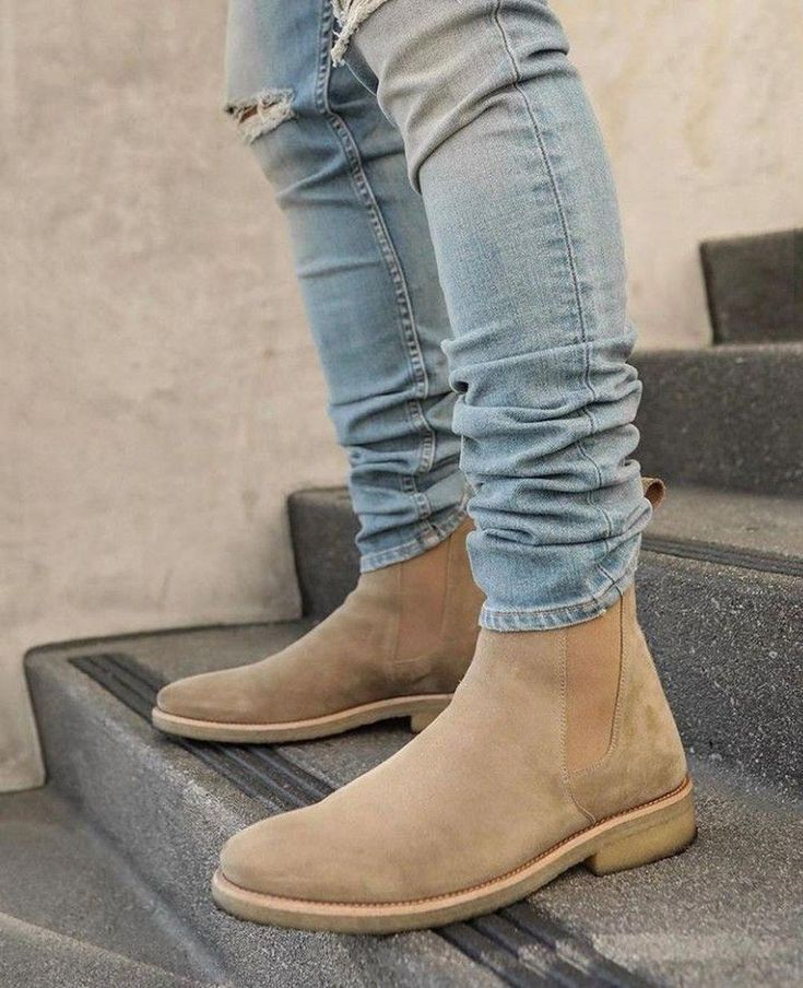 Mens boots fashion, Chelsea boots outfit