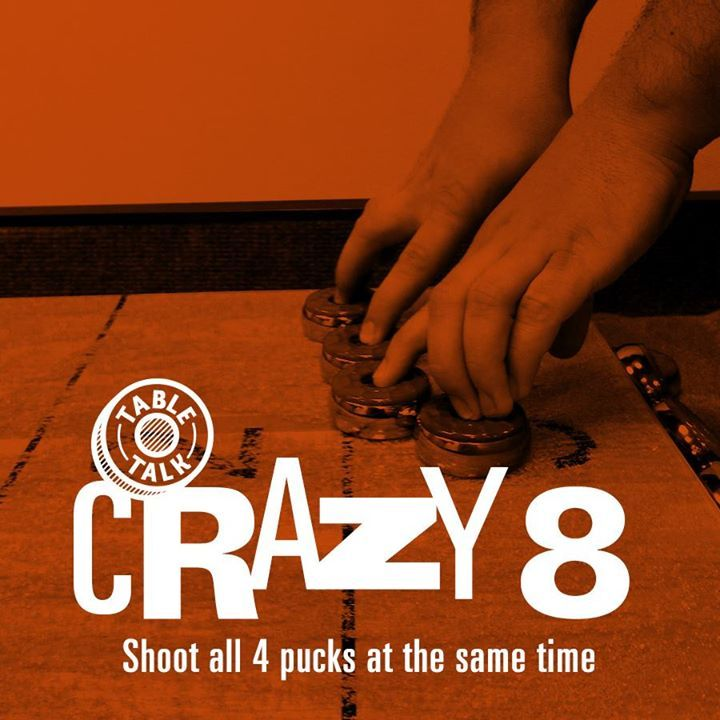 Crazy eight is full speed game where each player shoots