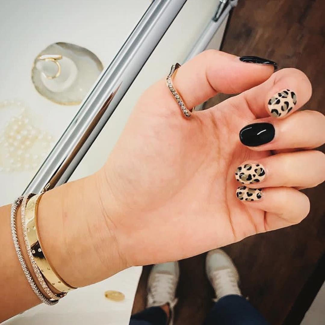 50+ Trendy Animal Print Nail Art Ideas | Animal print nails, Cheetah p