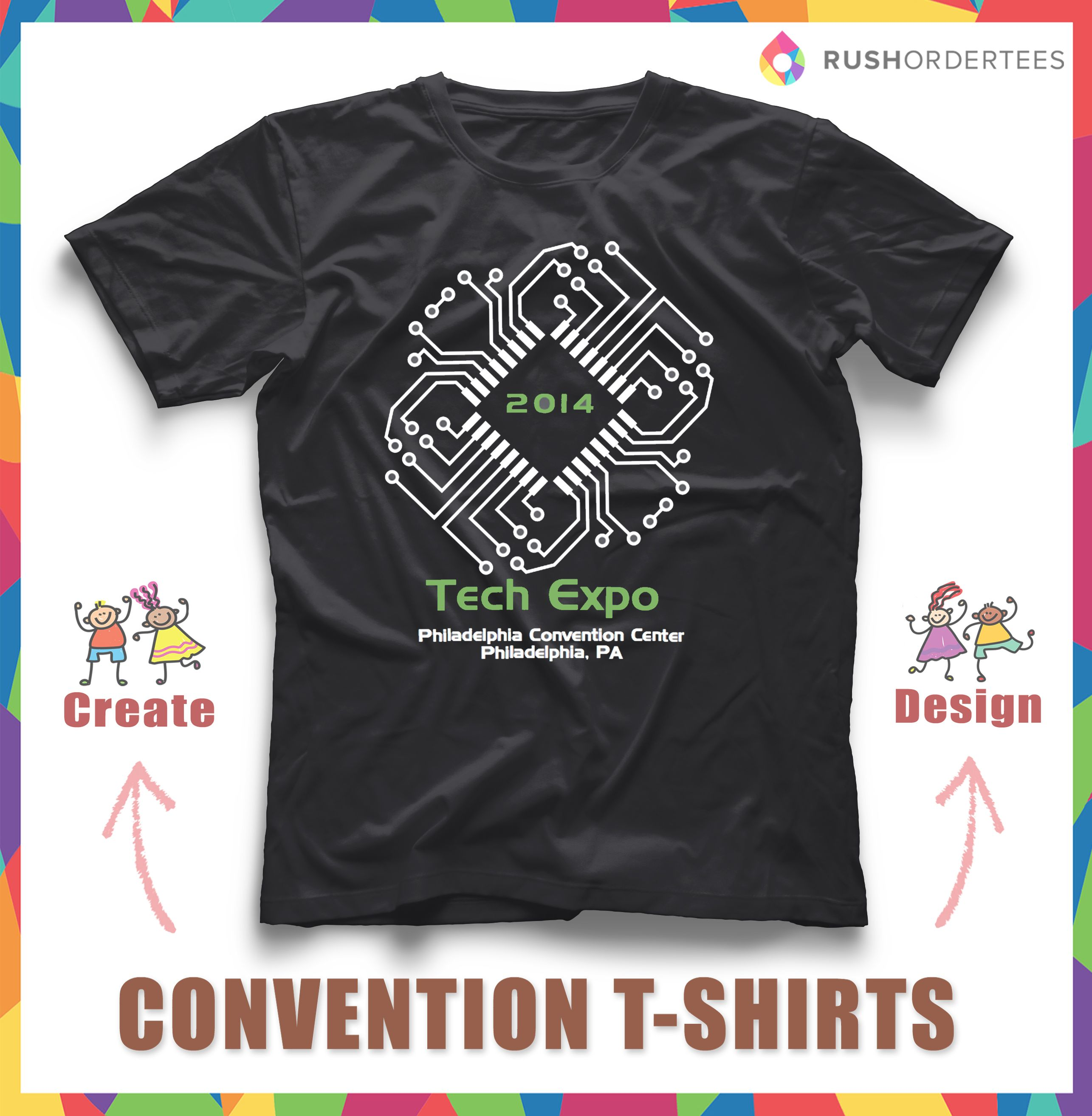Cool Convention Booth T Shirt Ideas Create Custom Shirts Online For