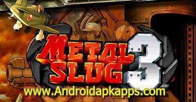 Download Metal Slug 3 v1 7 Apk Full Crack + OBB Data