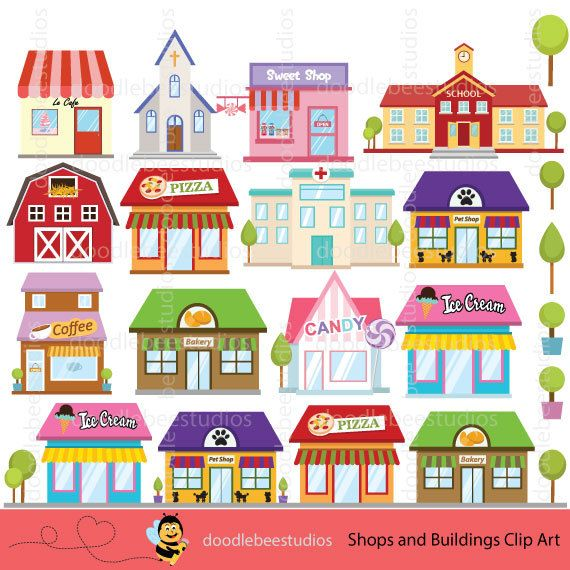 28+ Grocery store clipart building info