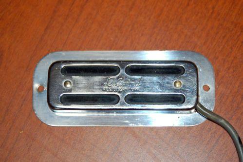 Vintage RARE DeArmond Model 41 Toaster Case Guitar Pickup 8 ... on