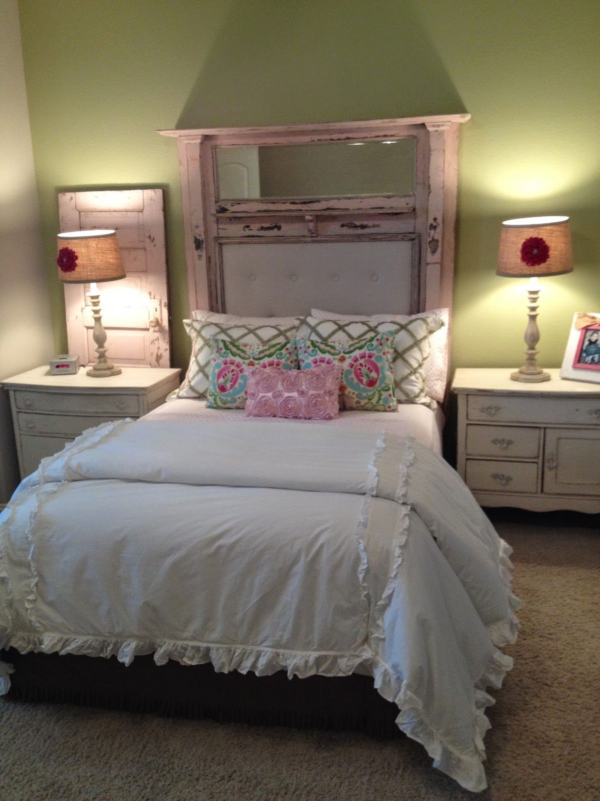 Averyus Pink Tufted Mantle Headboard HOW TO M is for Mantles