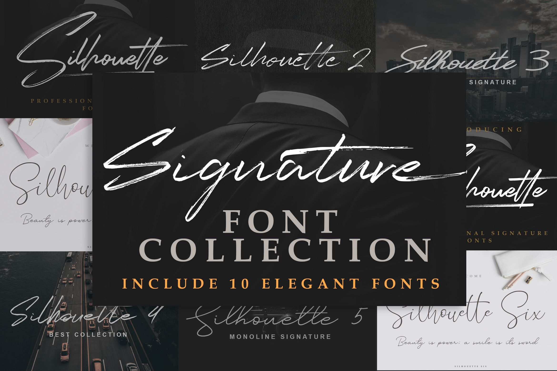 Download Download Signature Font Collection - 10 Fonts today! We ...