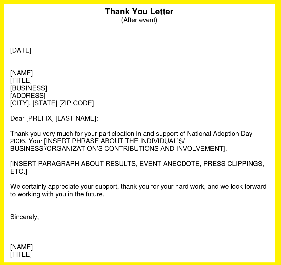 Thank You Letter After Interview Business Examples Follow Email Template  Steal Right Now Yesware