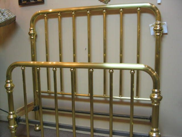 my grandma gave me an old brass bed made in but it was never this shiny olden days pinterest