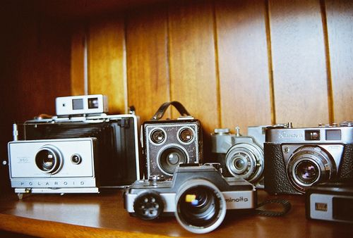 Vintage camera collection.  Working or not!