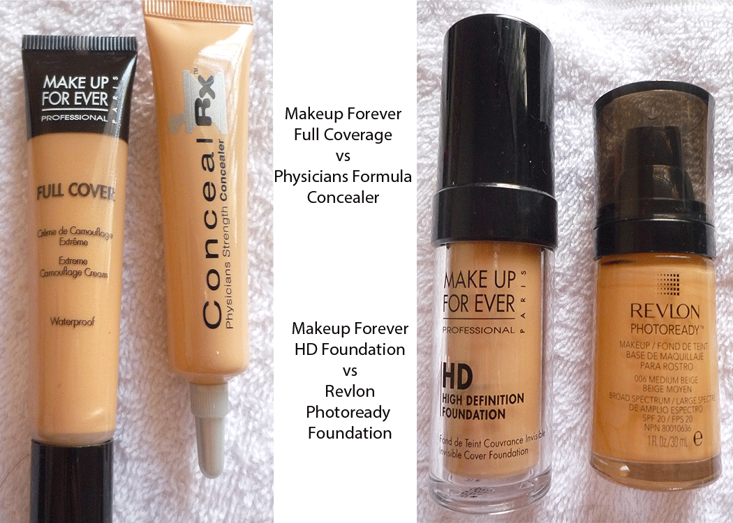 Makeup For Ever dupes - I've been looking for a dupe for their HD foundation